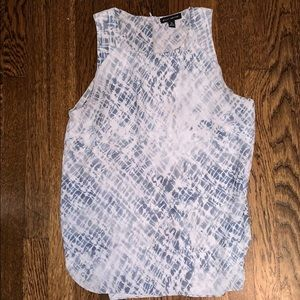 Patterned Tank Top Blouse - Willi Smith